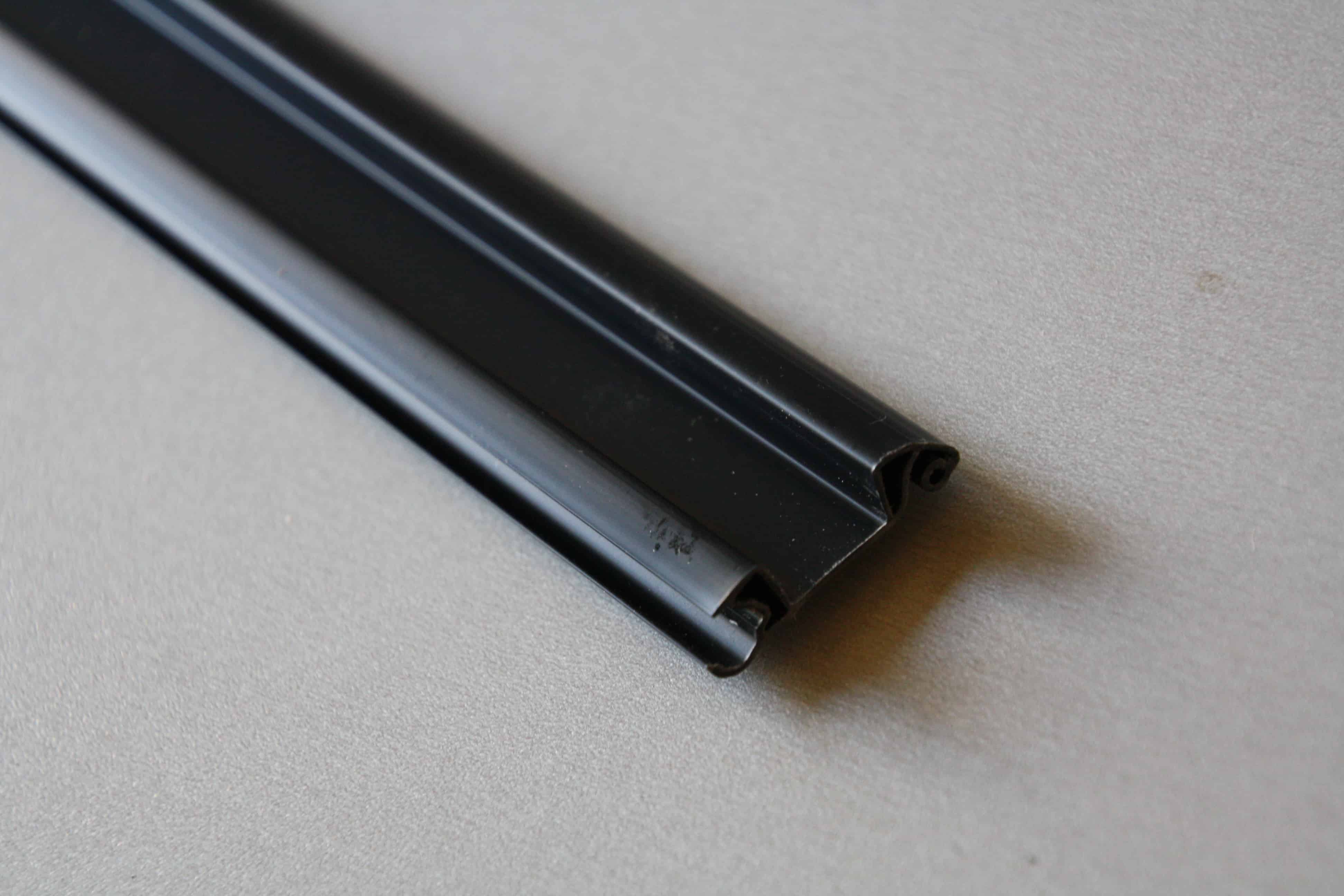 Tambour Door Handle 1000mm Black Clearcut Conversions