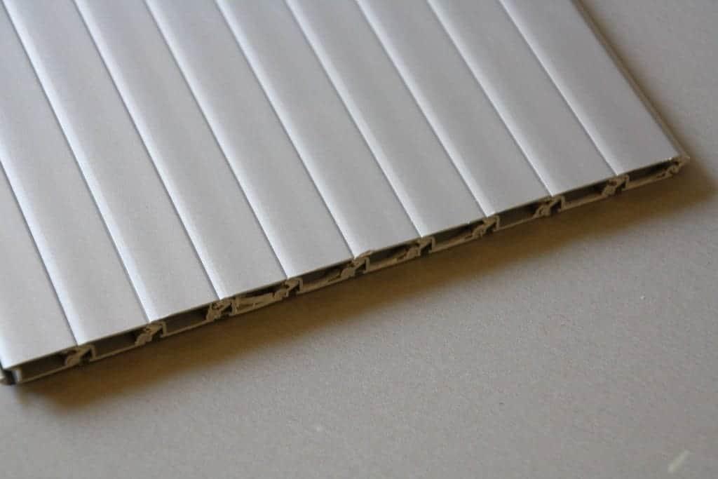 Tambor Door 1000mm Slats Silver Clearcut Conversions