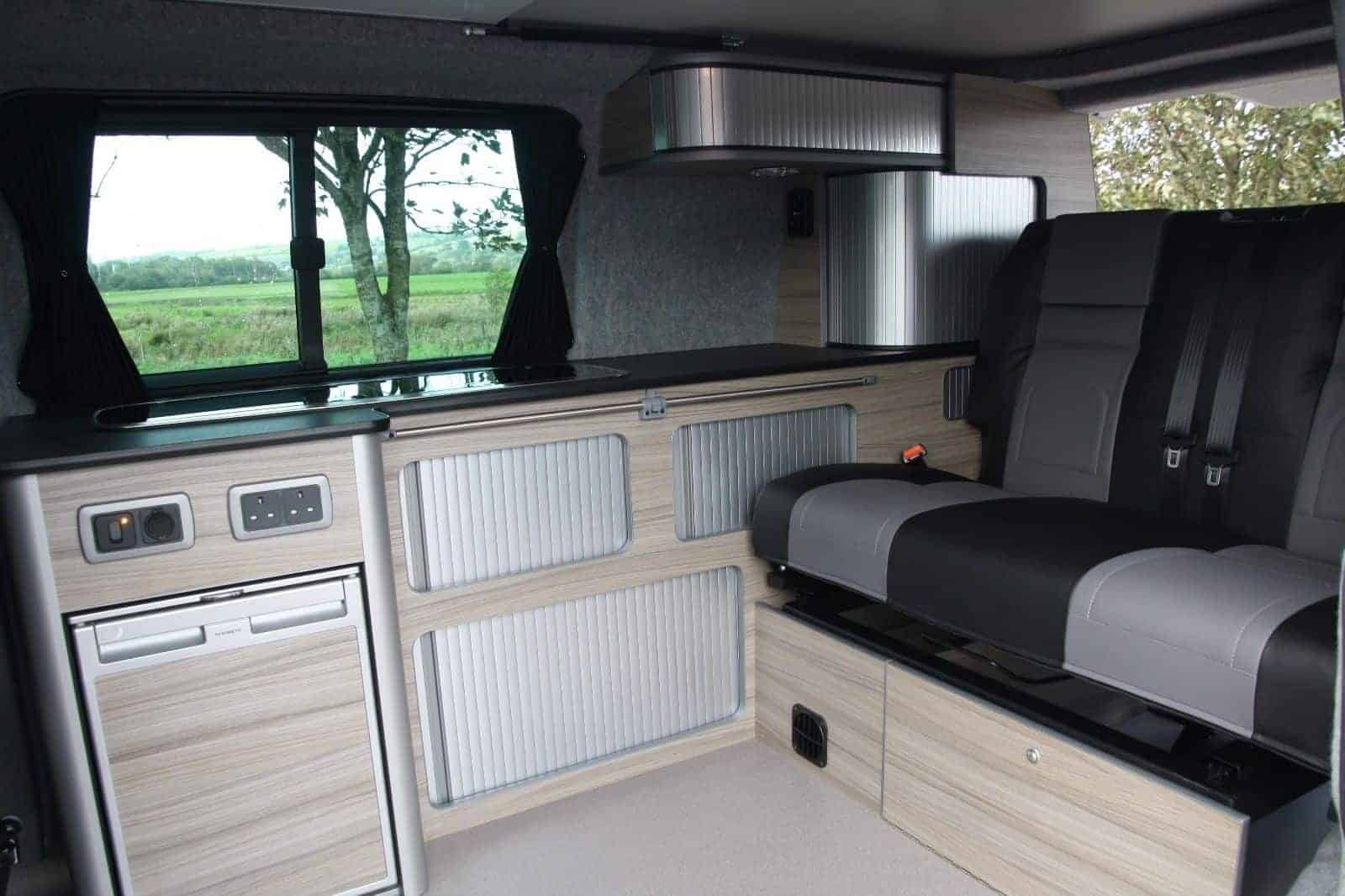Renault Trafic Campervan Conversion Stripewood Tourer