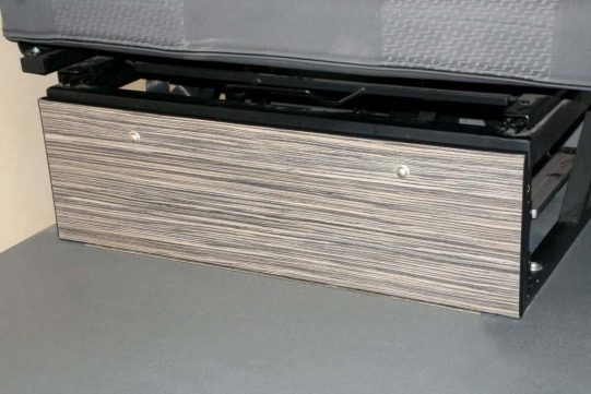 underseat panel 1 door stripewood