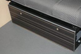 underseat panel stripewood