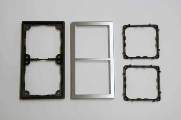 Double Chrome Square Components