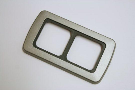Double Flatline Silver