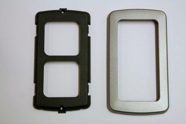 Double Flatline Silver Components