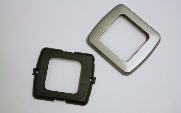 Single Flatline Silver Components