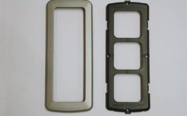 Triple Flatline Silver Components