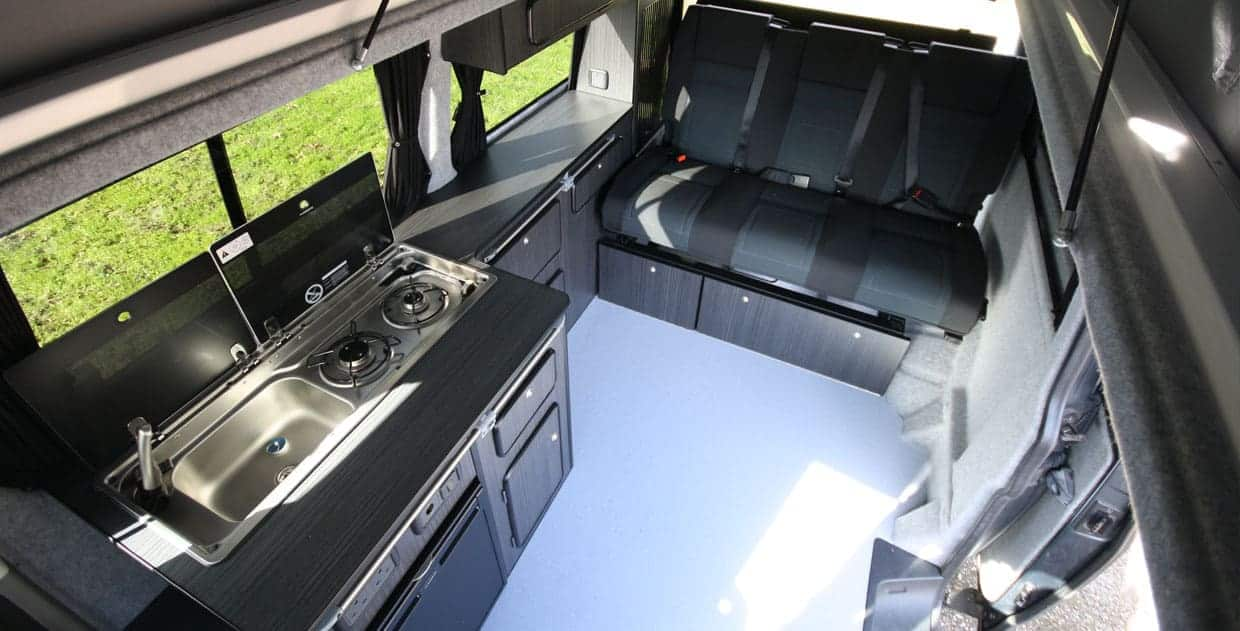camper conversion overhead