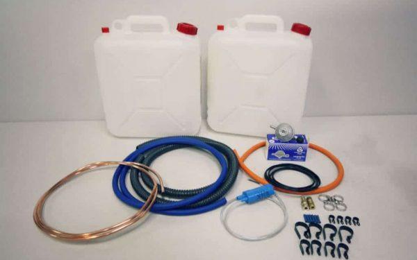 gas water 2x 10l