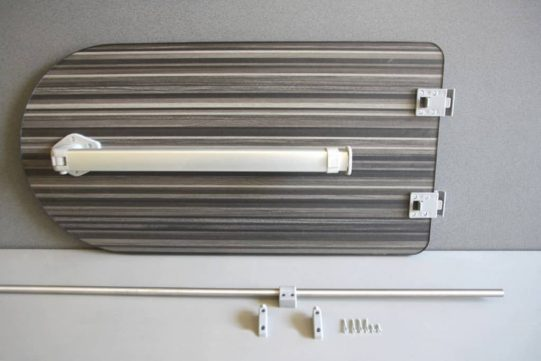 stripewood leg and rail