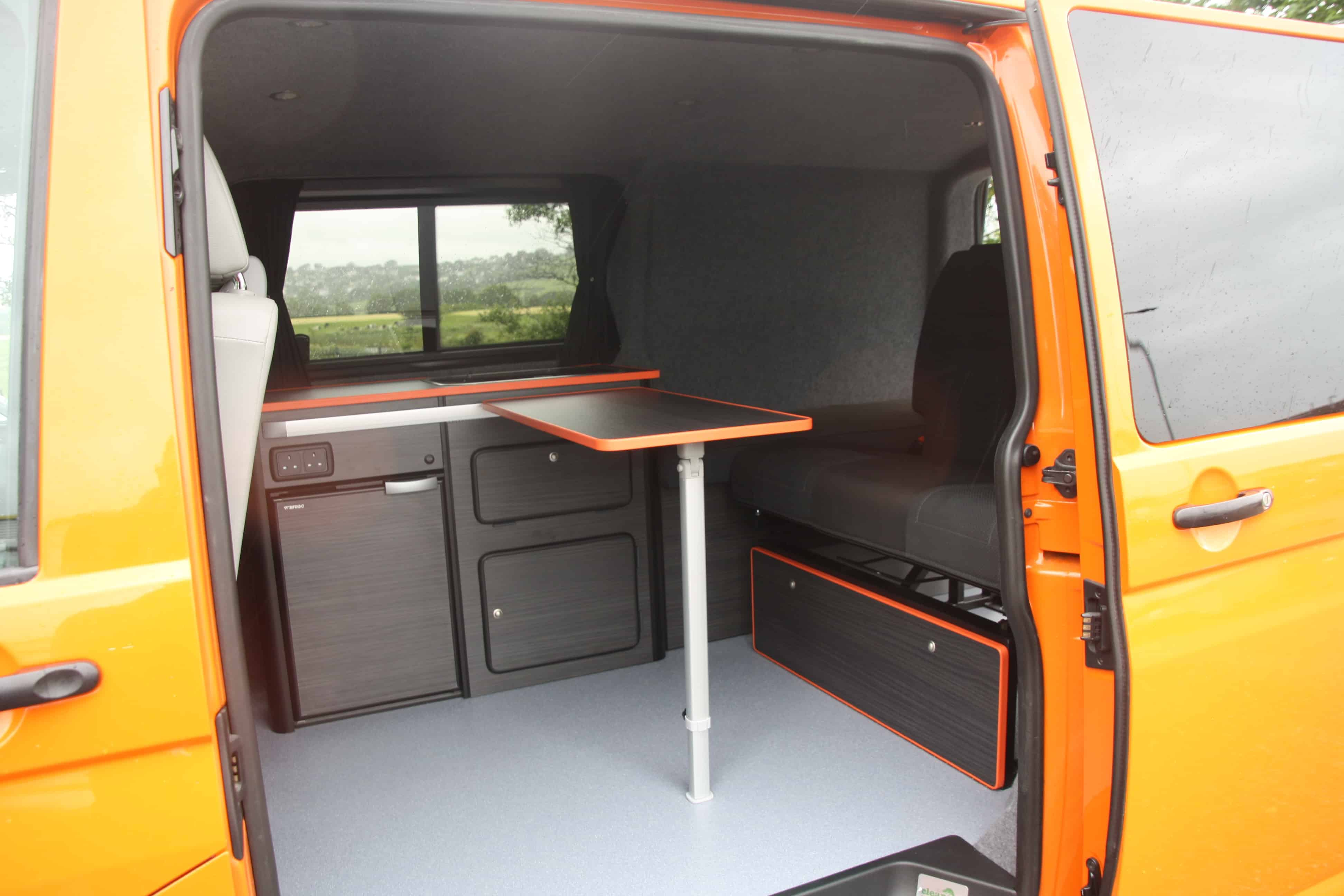Vw T5 And T6 Campervan Conversion Explorer Modular Conversion Packages Clearcut Conversions