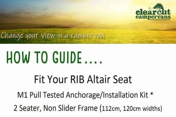 Fit your RIB 2 seater non slider