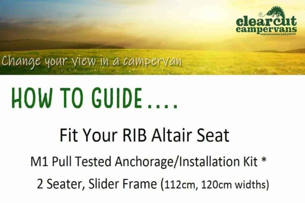 Fit your RIB 2 seater slider