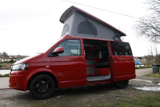 VW T5 Elevating Roof 2