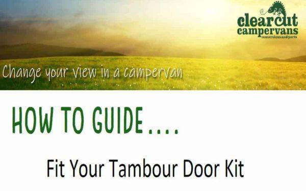 Fitting Tambour Doors