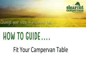 Fitting Campervan Table