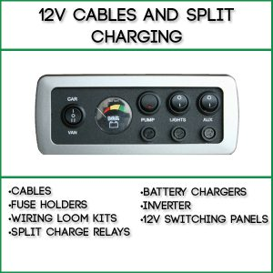 12v Cable and Split Charging