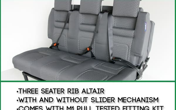 130cm Width - Three Seater RIB Altair