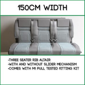 150cm Width - Three Seater RIB Altair