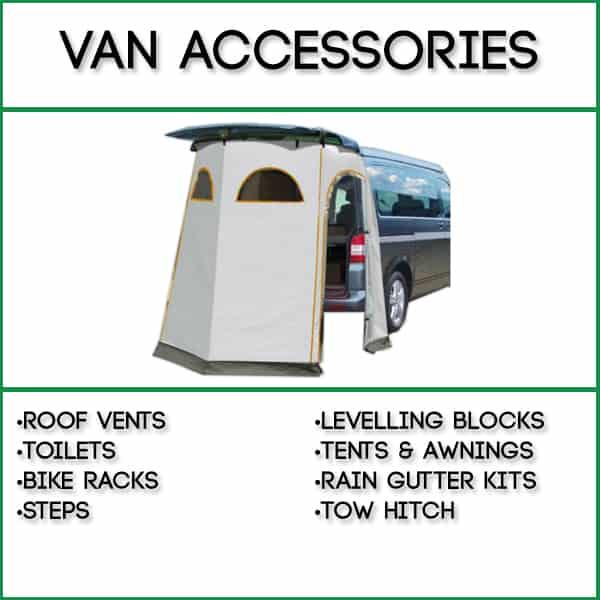 Self Build Campervan Conversions, Parts and Components | UK