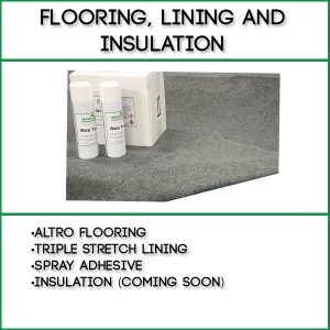 Flooring, Lining and Insulation
