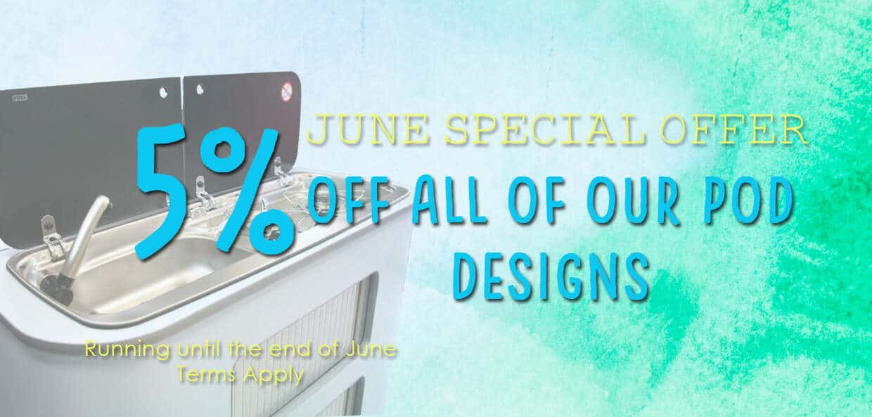 June offer 5 off Pods 1