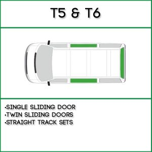 VW T5/6 Curtains