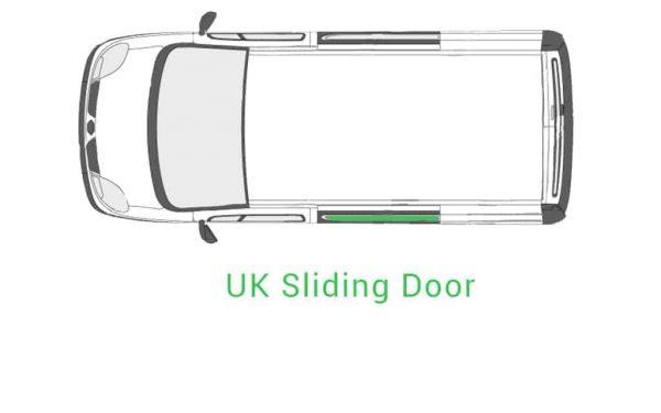 Old Shape Trafic 01 14 UK Sliding Door
