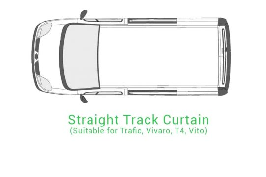 Straight Track Curtain
