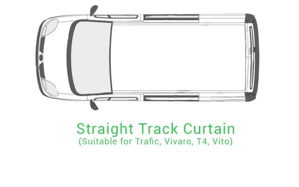 Straight Track Curtain