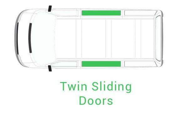 Twin Sliding Doors