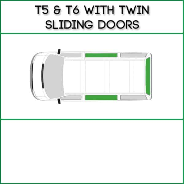 Twin Sliding Doors