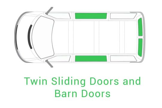 Twin Sliding Doors and Barn Doors 1