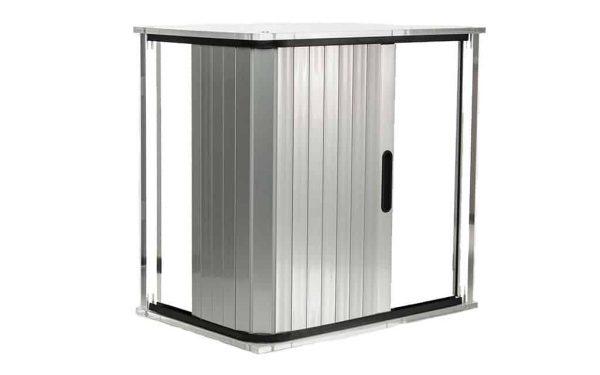 Shower tambour door