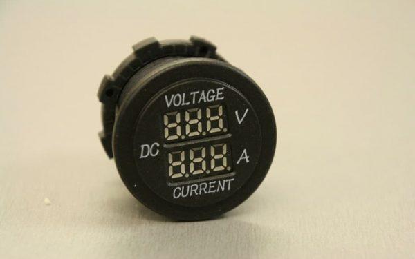 12v Voltmeter Ammeter Campervan VW T56Van Volt and Amp Digital Meter