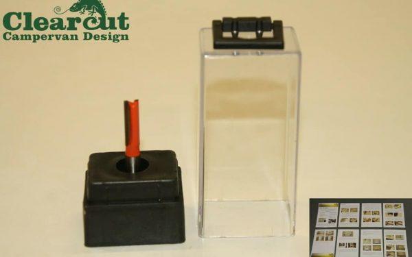 2mm Slot Cutter 6.3 mm Door Router Cutter Campervan FurnitureKnock on T trim 03