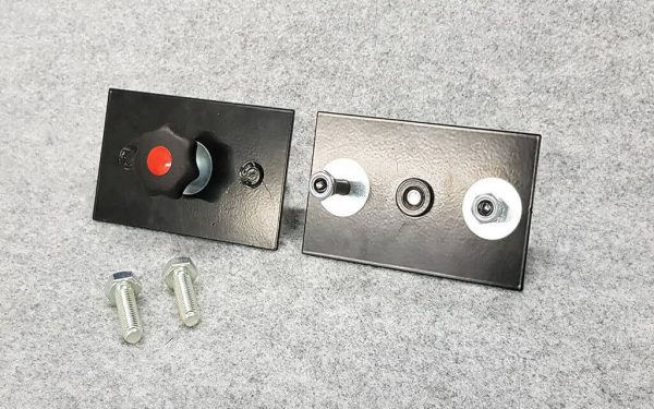 Campervan Pod Fixing Kit Allows Easy Removal of Pod Unit Flush Floor Plates 02 WEB