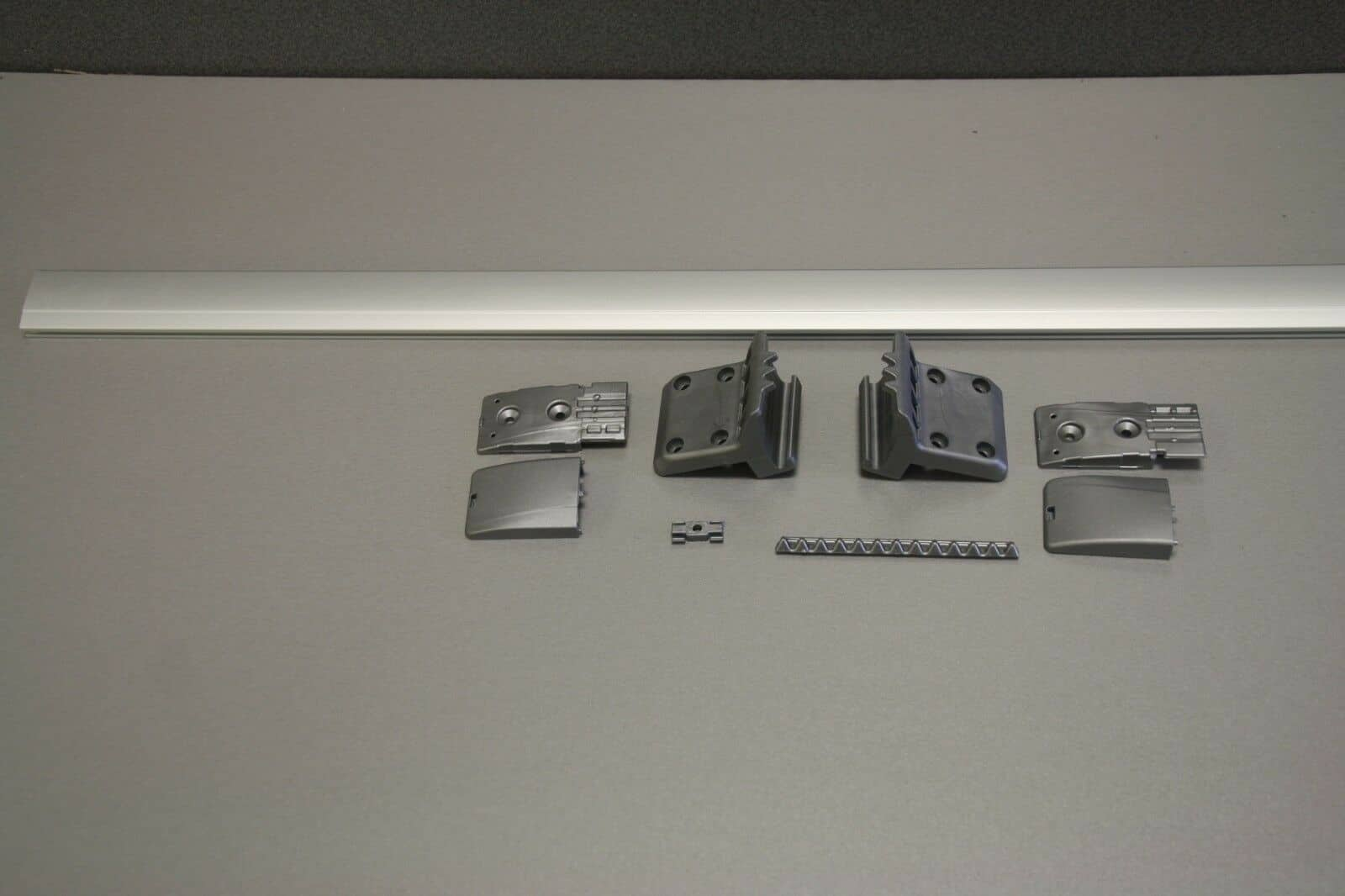 Vw T5  6 Table Rail Kit  New Aluminium Table Rail For