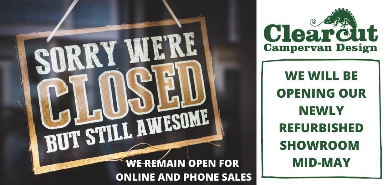 OUR SHOP WILL REMAIN CLOSED UNTIL MID MAY